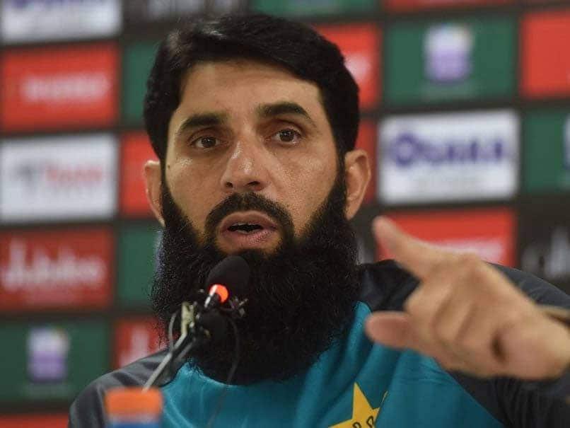Misbah-ul-Haq- the head coach of the Pakistan cricket team.© AFP