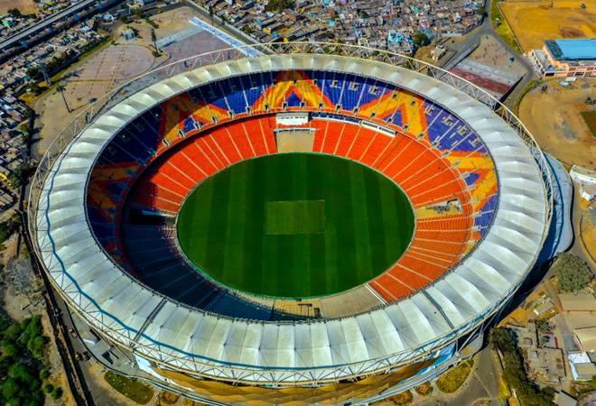 The world's largest cricket stadium in Ahmedabad