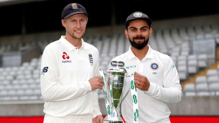 India(Virat Kohli) vs England(Joe Root)