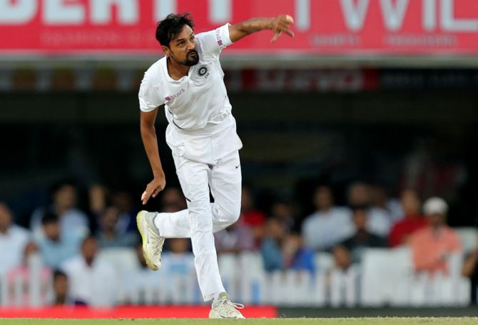 Shahbaz Nadeem Set To Be Dropped For 2nd Test 2