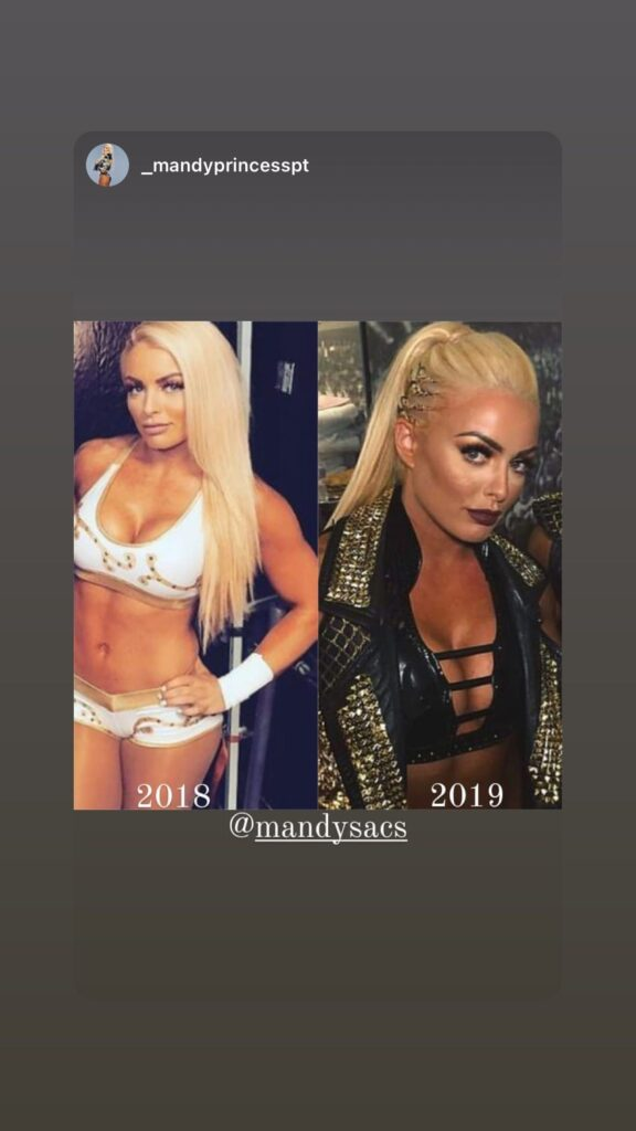 Mandy Rose Shares Pictorial Messages After Missing WWE Elimination Chamber 2021 1