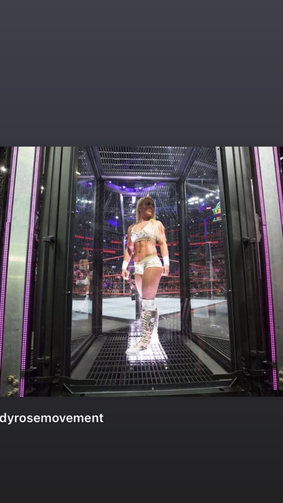 Mandy Rose Shares Pictorial Messages After Missing WWE Elimination Chamber 2021 2