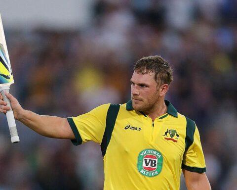 Australia's Aaron Finch ©Reuters
