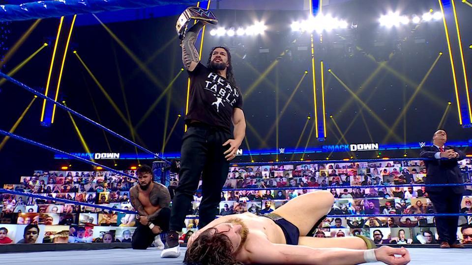 WWE Smackdown Results (26/02/21): Reigns Attacks Daniel Bryan; Wrestlemania announcement 4