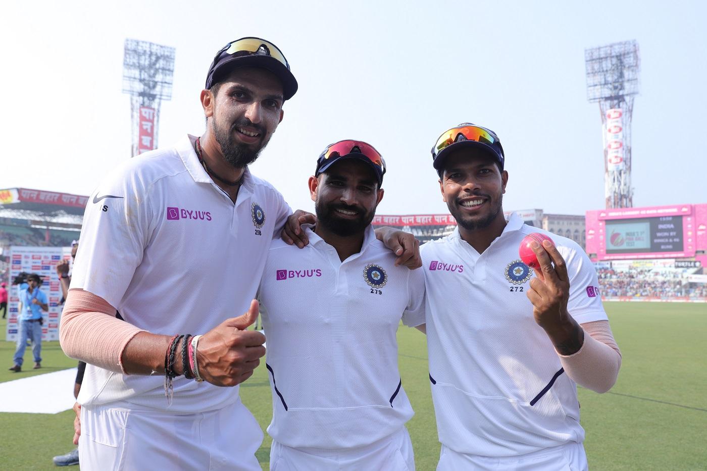 Mohammed Shami, Ishant Sharma and Umesh Yadav
