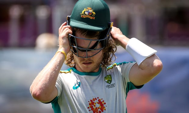 Australia's Will Pucovski has been cleared of concussion and is in the selection mix to make his Test debut against India at the SCG on Thursday, Photograph: David Gray/AFP/Getty Images