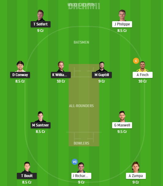 New Zealand, Australia, 1st T20I, Fantasy Cricket, New Zealand vs Australia 2021