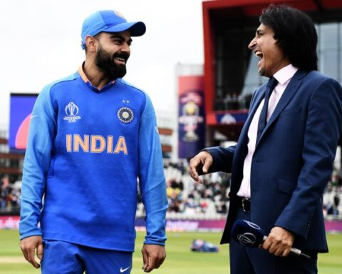 Ramiz Raja-Virat Kohli. Photo Credit: (ESPN Cricinfo)