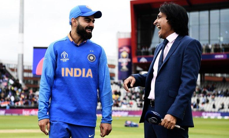 Ramiz Raja-Virat Kohli. Photo Credit: (ESPN Cricinfo)