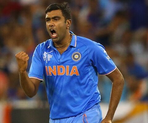 Ravichandran Ashwin of India. (Photo by Quinn Rooney/Getty Images)
