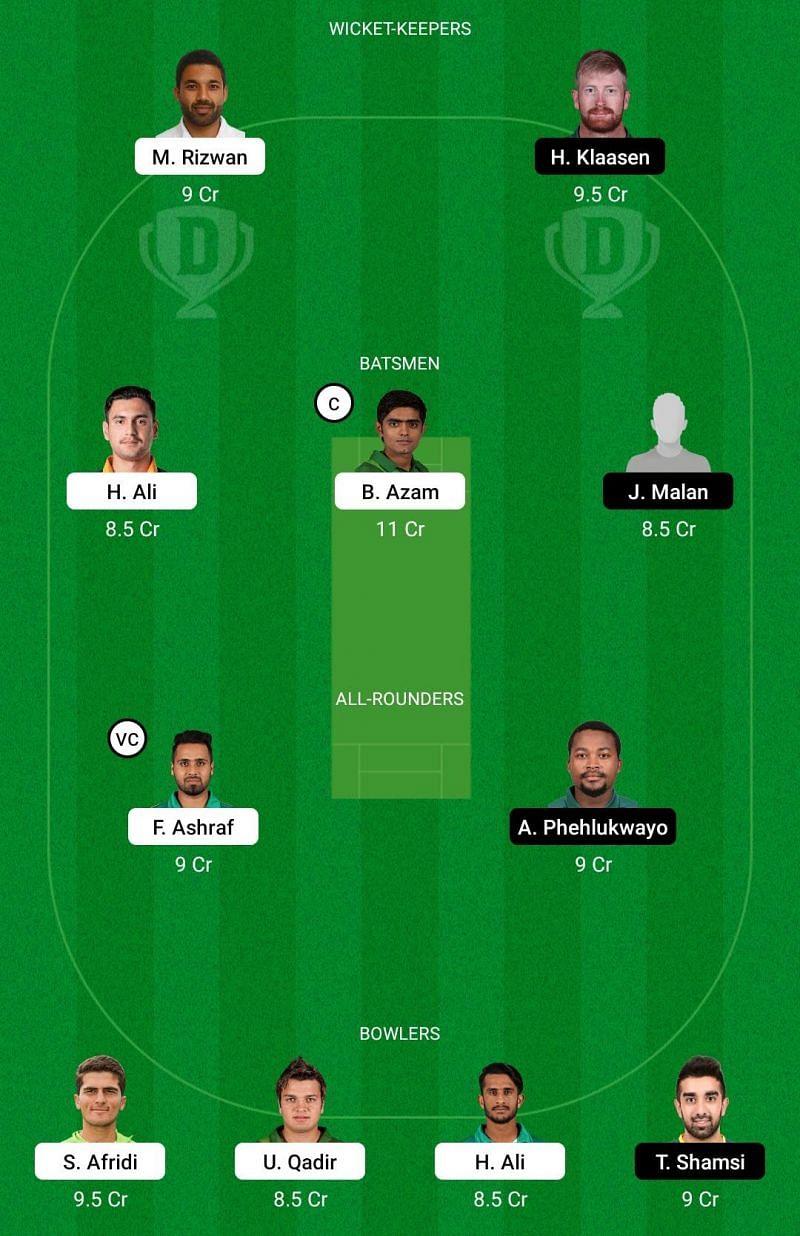 Pakistan vs South Africa 2021, 1st T20I: Fantasy Cricket Tips 3