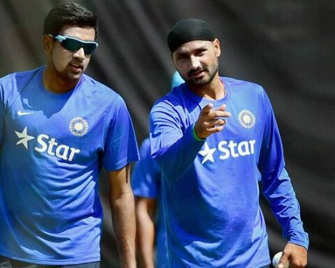 R Ashwin and Harbhajan Singh (PTI File Photo)