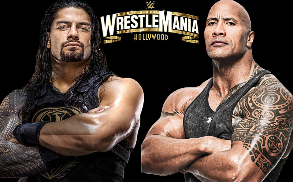 Roman Reigns vs The Rock