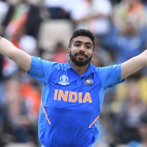 India's Jasprit Bumrah in action during the 2019 ICC World Cup | AFP / Dibyangshu Sarkar