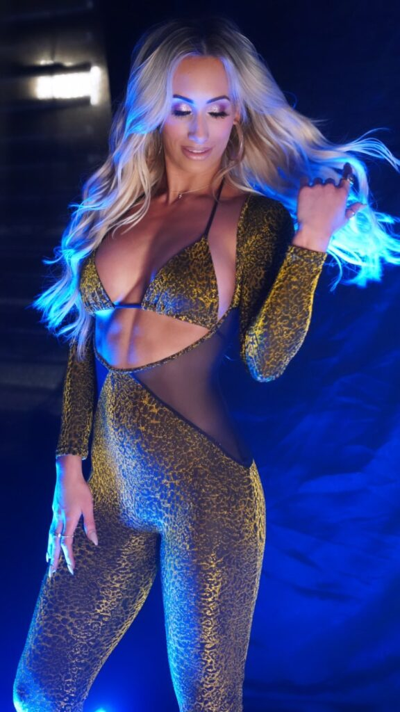 WWE Star Carmella Wants To Let The Bi**hes Know In Gorgeous Outfit 1