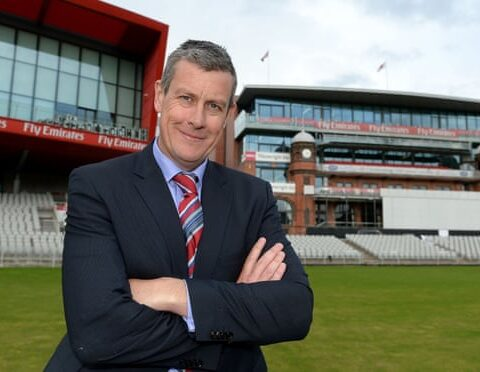 Ashley Giles, pictured in 2014 while working at Lancashire, has been appointed as England's new director of cricket. Photograph: Martin Rickett/PA
