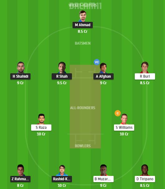 Afghanistan, Zimbabwe, 1st Test, Fantasy Cricket, Afghanistan vs Zimbabwe