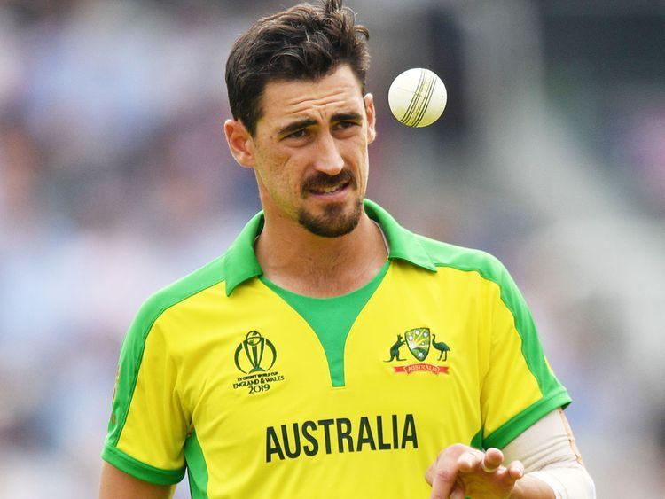 Australia's Mitchell Starc Image Credit: AFP