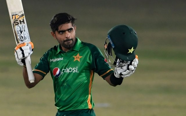 Babar Azam. (Photo by AAMIR QURESHI/AFP via Getty Images)