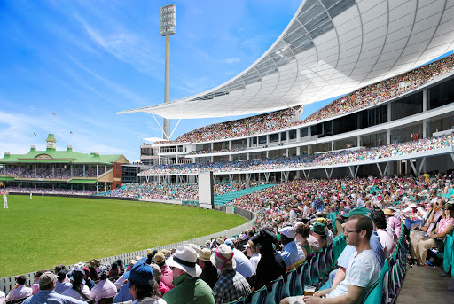 Fans In Cricket Stadium
