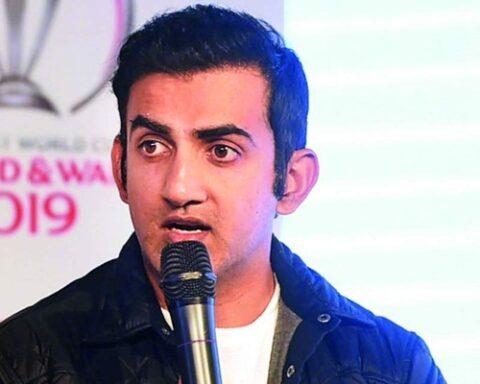Gautam Gambhir. Photo Credit: Getty Images.