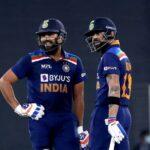 Virat Kohli and Rohit Sharma © BCCI