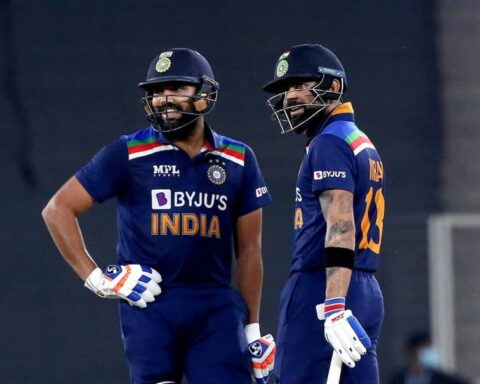 Virat Kohli and Rohit Sharma © BCCI