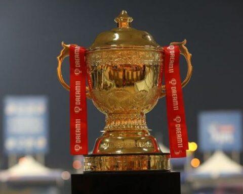 IPL Trophy.