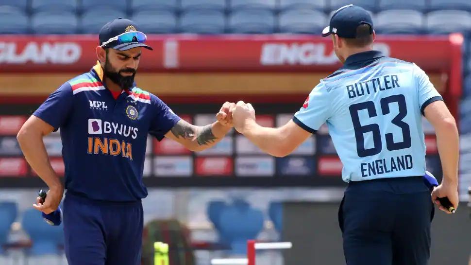 India vs England - Virat Kohli and Jos Buttler