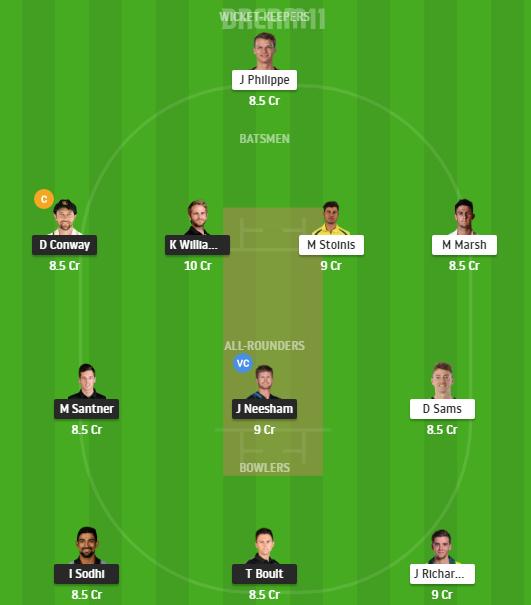 New Zealand, Australia, 3rd T20I, Fantasy Cricket