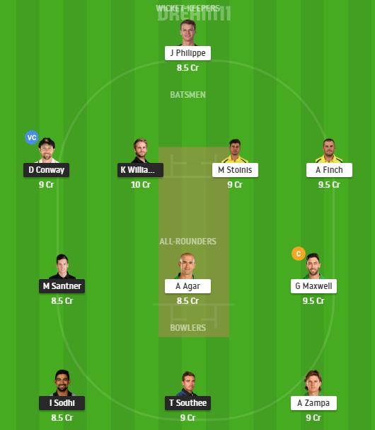 New Zealand, Australia, 5th T20I, Fantasy Cricket, New Zealand vs Australia