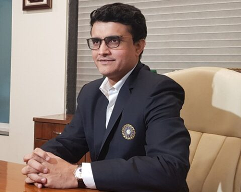 Sourav Ganguly. (Photo Source: Twitter)