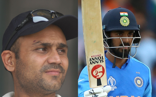 Virender Sehwag and KL Rahul. (Photo Source: Getty Images)