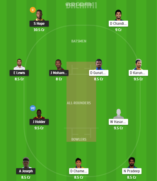 West Indies, Sri Lanka, 3rd ODI, Fantasy Cricket, West Indies vs Sri Lanka