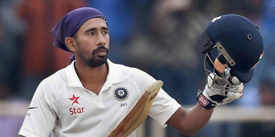India Test wicketkeeper Wriddhiman Saha (Photo | PTI)