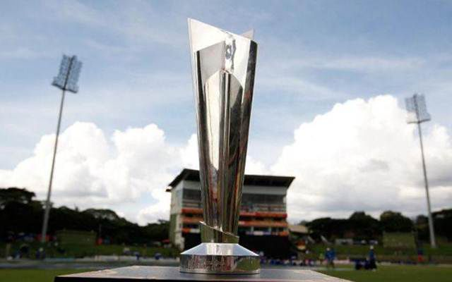 T20I World Cup trophy. (Photo Source: Twitter)