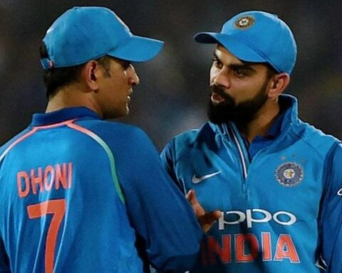 Virat Kohli, MS Dhoni (Photo:AFP)