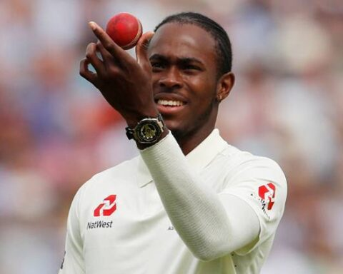 Jofra Archer made his Test debut at Lord's against Australia last year. (Source: Reuters)