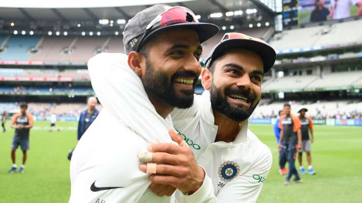 Virat Kohli backs Ajinkya Rahane Image Source : GETTY IMAGE