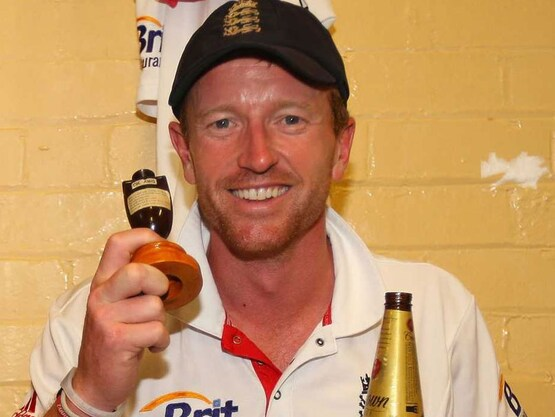 Paul Collingwood played 68 Tests, 197 One-day Internationals and 36 T20 for England.© AFP