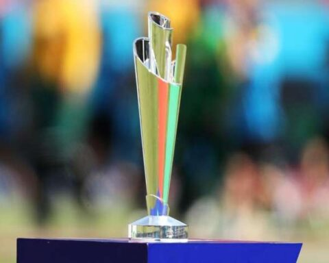 T20I World Cup Trophy Image Source : TWITTER