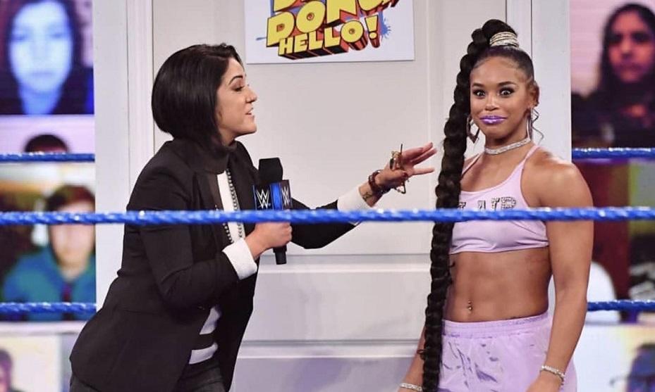 Bayley Wants Bianca Belair Inside Steel Cage Before WWE Wrestlemania 37