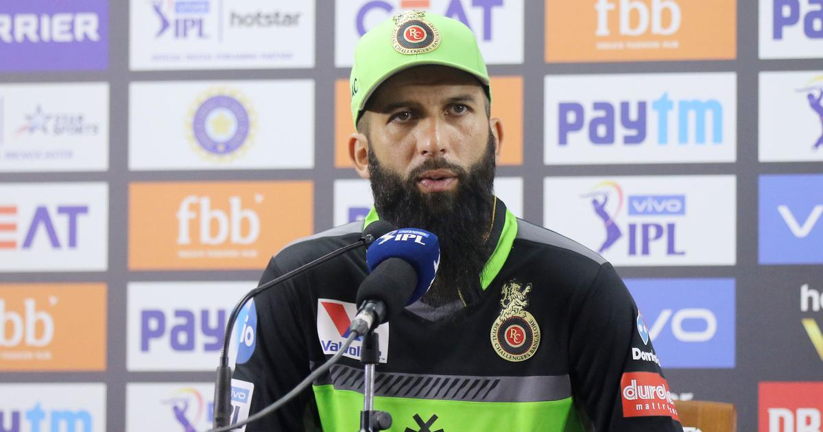 Royal Challengers Bangalore all-rounder Moeen Ali after his team's loss to Delhi Capitals in IPL 2019 on Sunday | Vipin Pawar / Sportzpics for BCCI