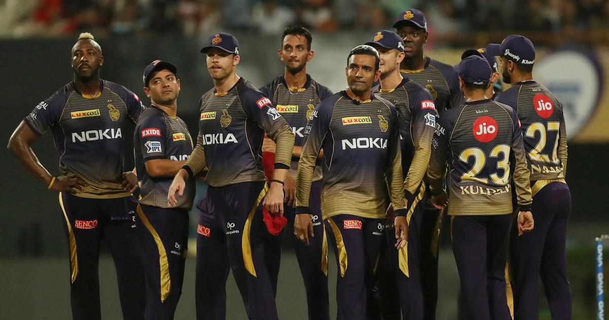 Kolkata Knight Riders in action during IPL 2019 | Ron Gaunt / Sportzpics for BCCI
