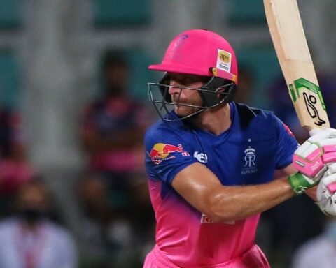 Rajasthan Royals batsman Jos Buttler in action | Sportzpics for BCCI / Pankaj Nangia