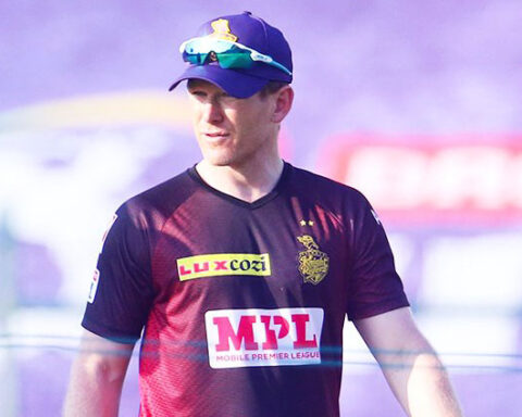 KKR captain Eoin Morgan Twitter/@KKRiders