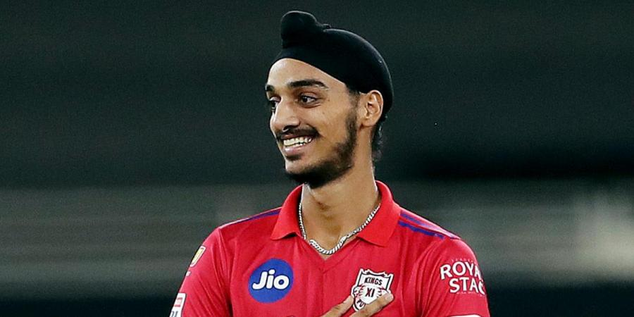 Kings XI Punjab bowler Arshdeep Singh (Photo| ANI)