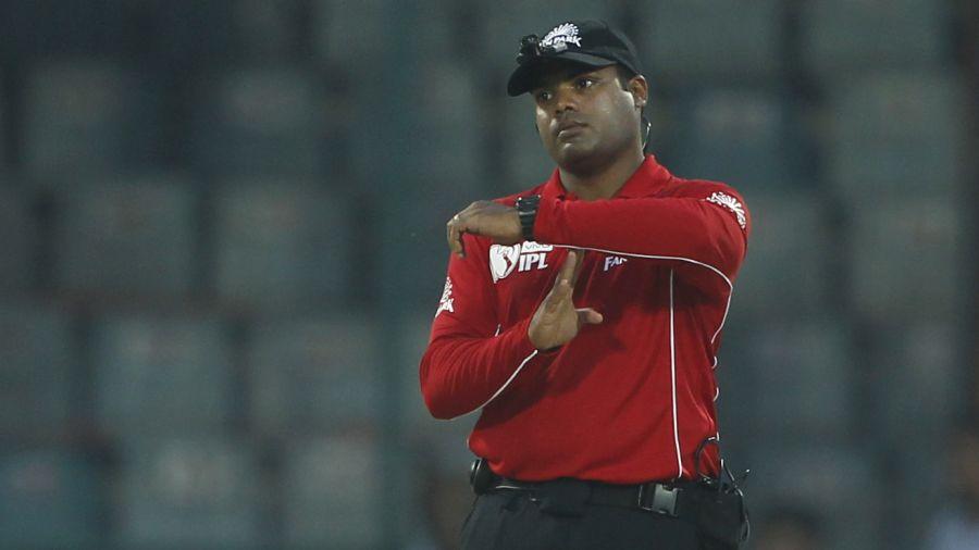 Nitin Menon stood in half a dozen matches during the Chennai leg of the tournament BCCI