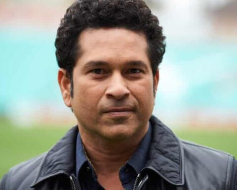Sachin Tendulkar says his admittance to hospital is 'a matter of abundant precaution'. Photograph: Niklas Halle'n/AFP/Getty Images