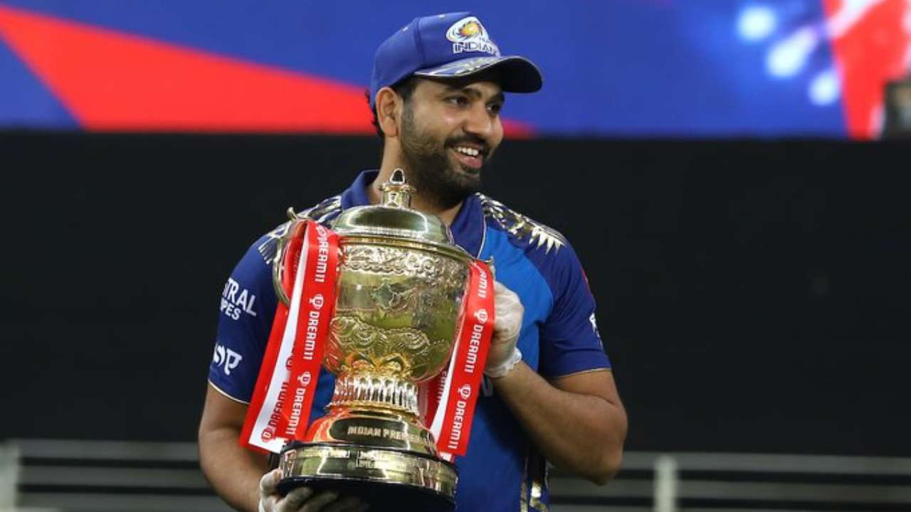 Rohit Sharma and Mumbai Indians created history as they won the IPL title for the fifth time, with Rohit winning it for the sixth time. , BCCI/IPL Twitter handle